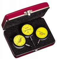 STARRETT - S253MZ - 56283 3PC METRIC DIAL INDICATOR SET